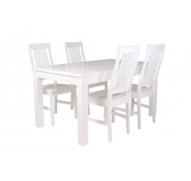 Aino-pöytä 140 cm valkoinen