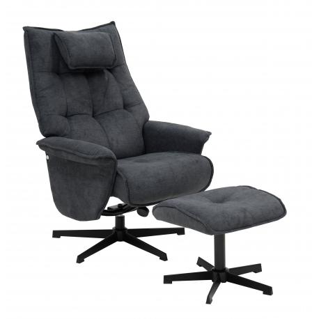 Skagen-tv-tuoli rahilla harmaa