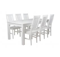 Aino-pöytä 180 cm valkoinen